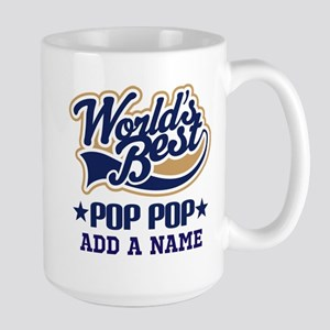 Personalized Worlds Best Pop Pop Mugs